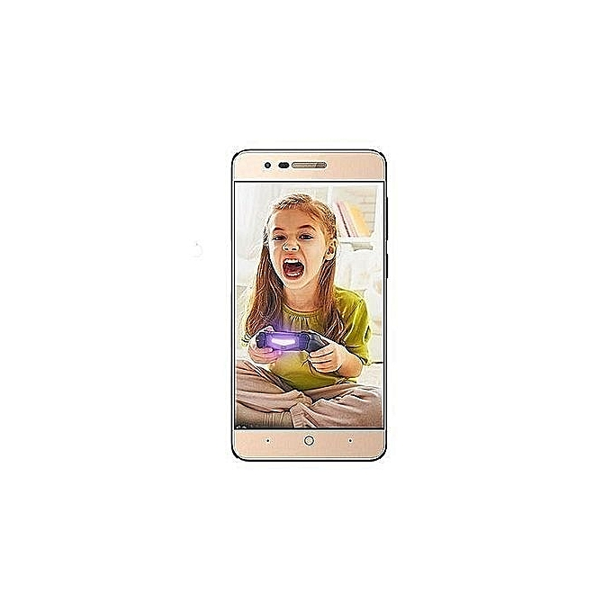 Fero A4502 - 4 5-Inch, IPS Android 6 0 Marshmallow, (512MB, 8GB ROM) 5MP +  2MP Smartphone - GOLD